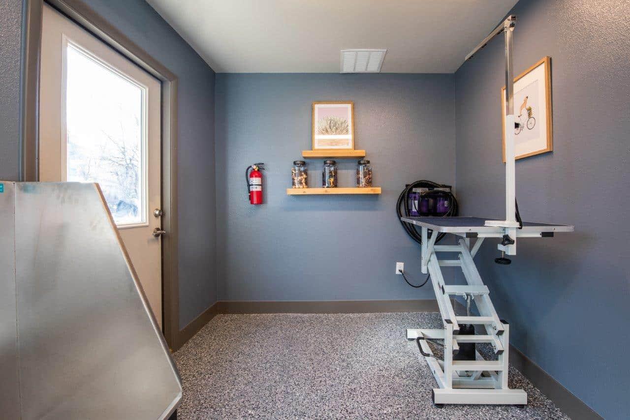 Pet Spa Wash & Bike Repair/Storage Room