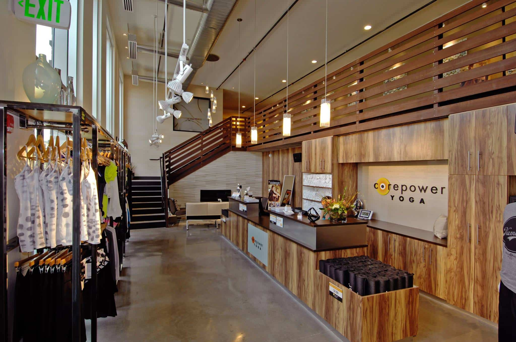 CorePower Yoga located on-site with Yoga Training and Spin Studio
