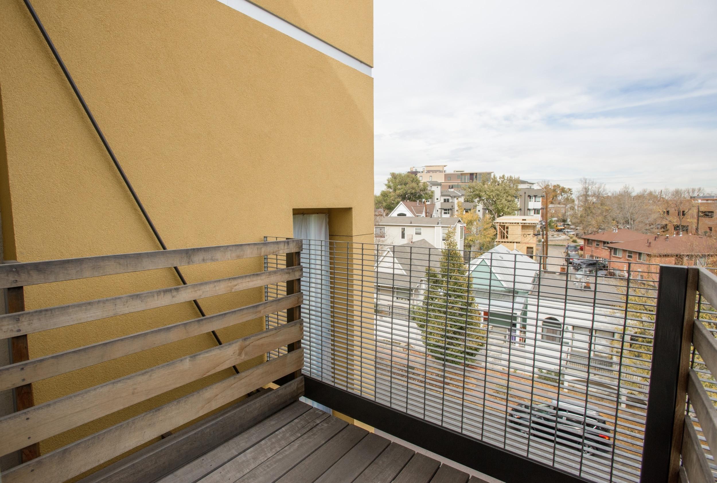 Private Balconies in Select Floor Plans*
