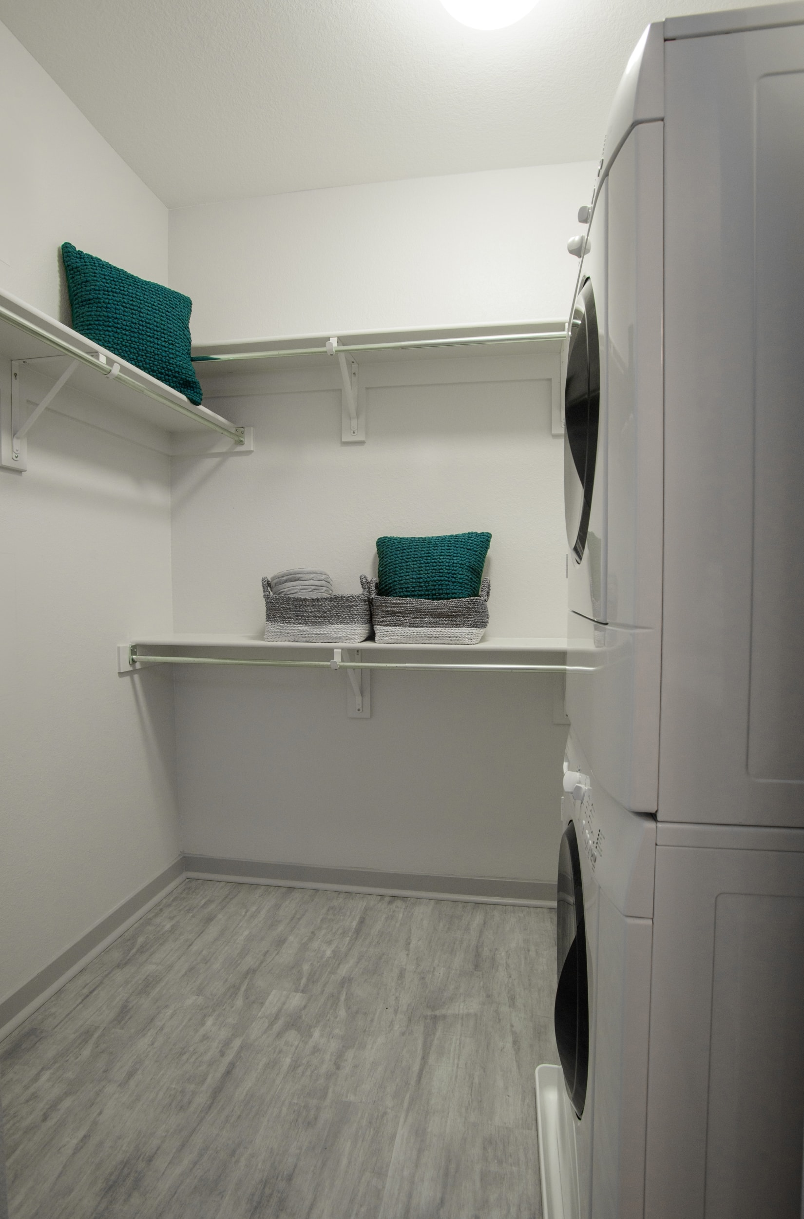 Front-Load Washer & Dryer in Each Apartment