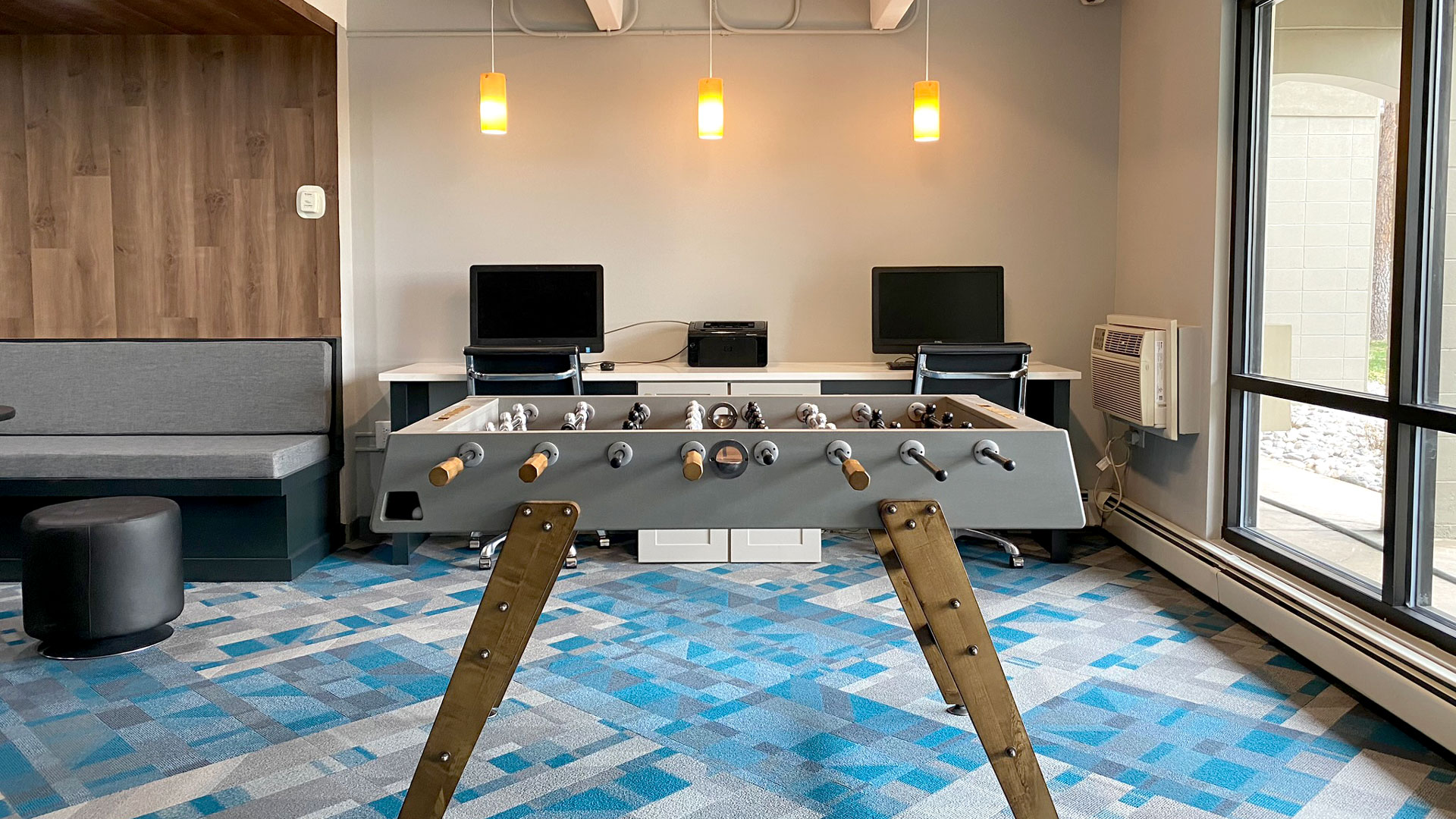 Business Center and Game Room