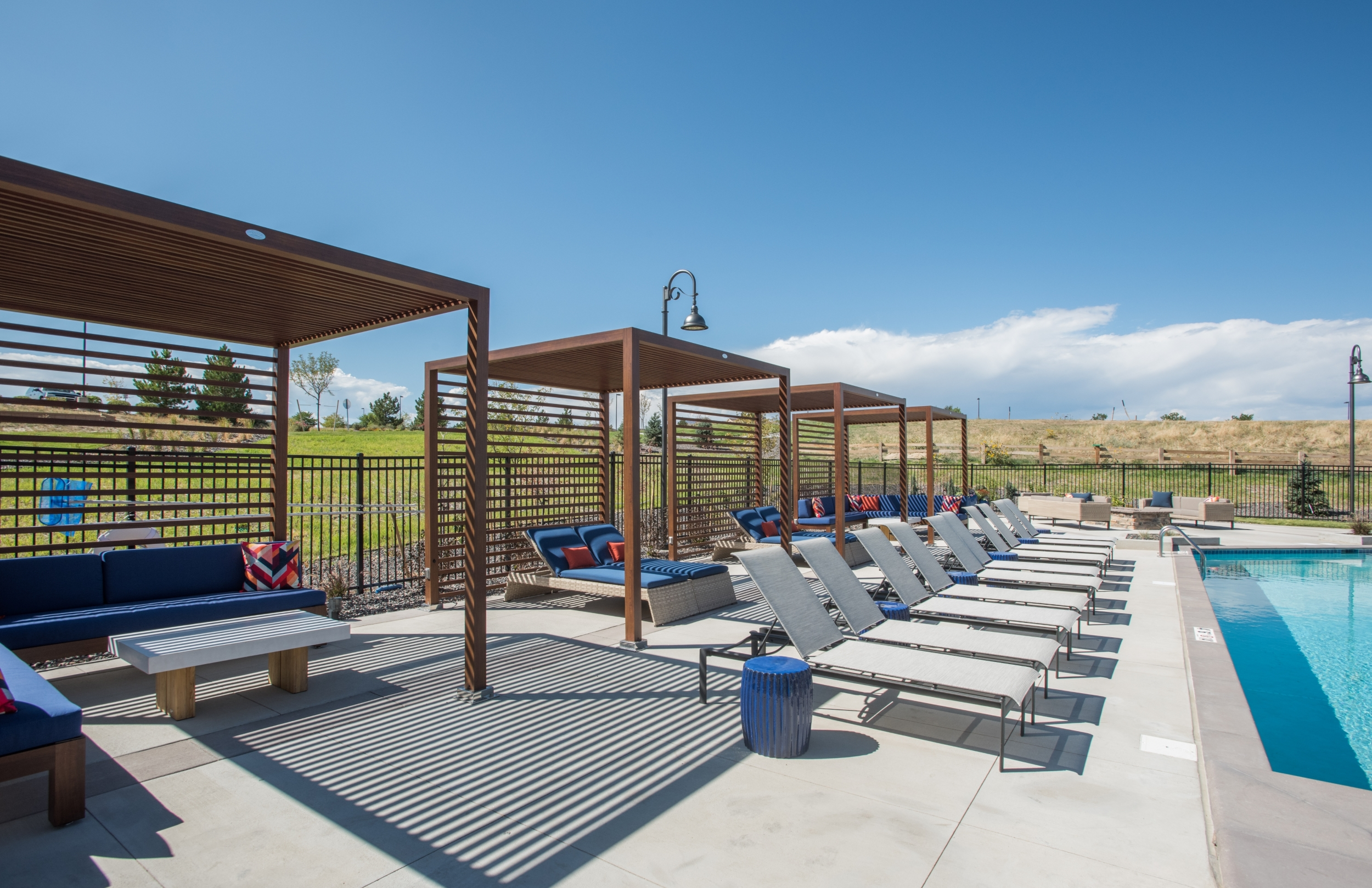 Custom Built Pool Cabanas