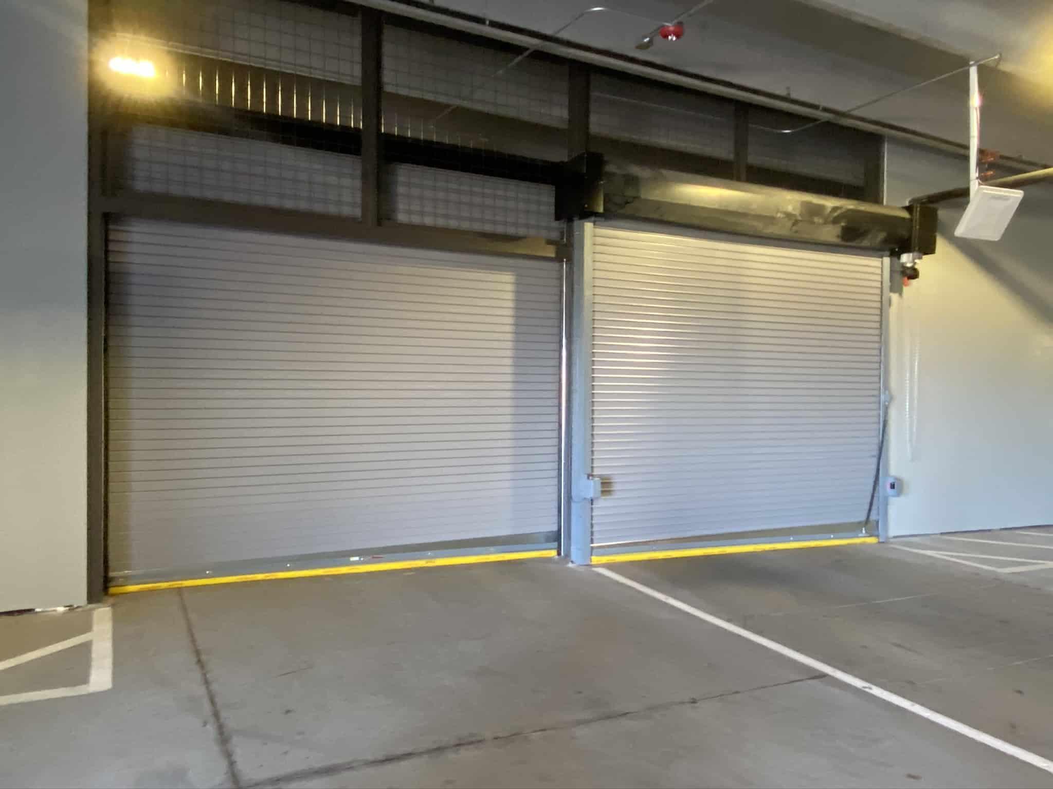 Gated Parking Garage