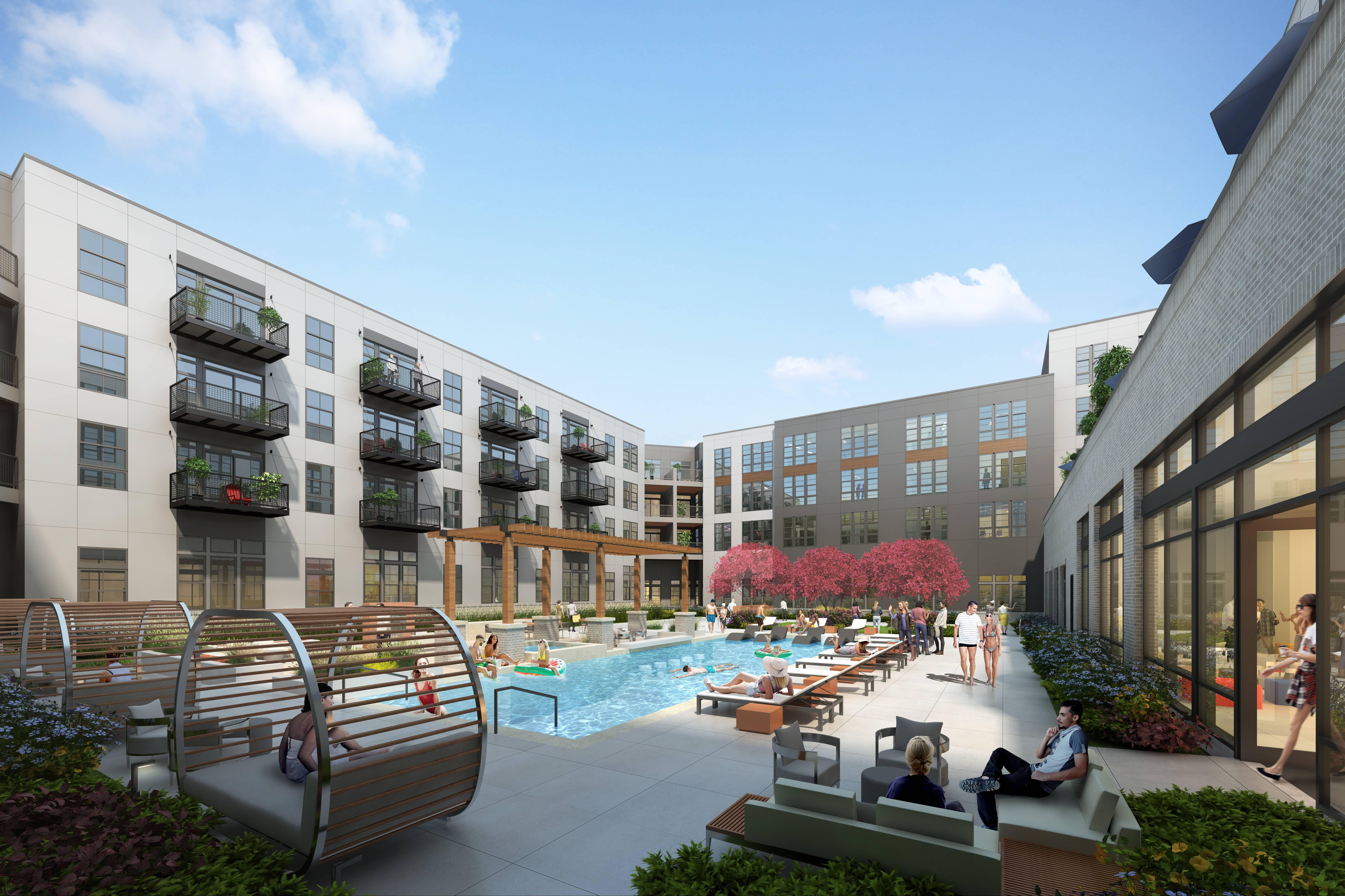 Resort-Inspired Swimming Pool & Spa