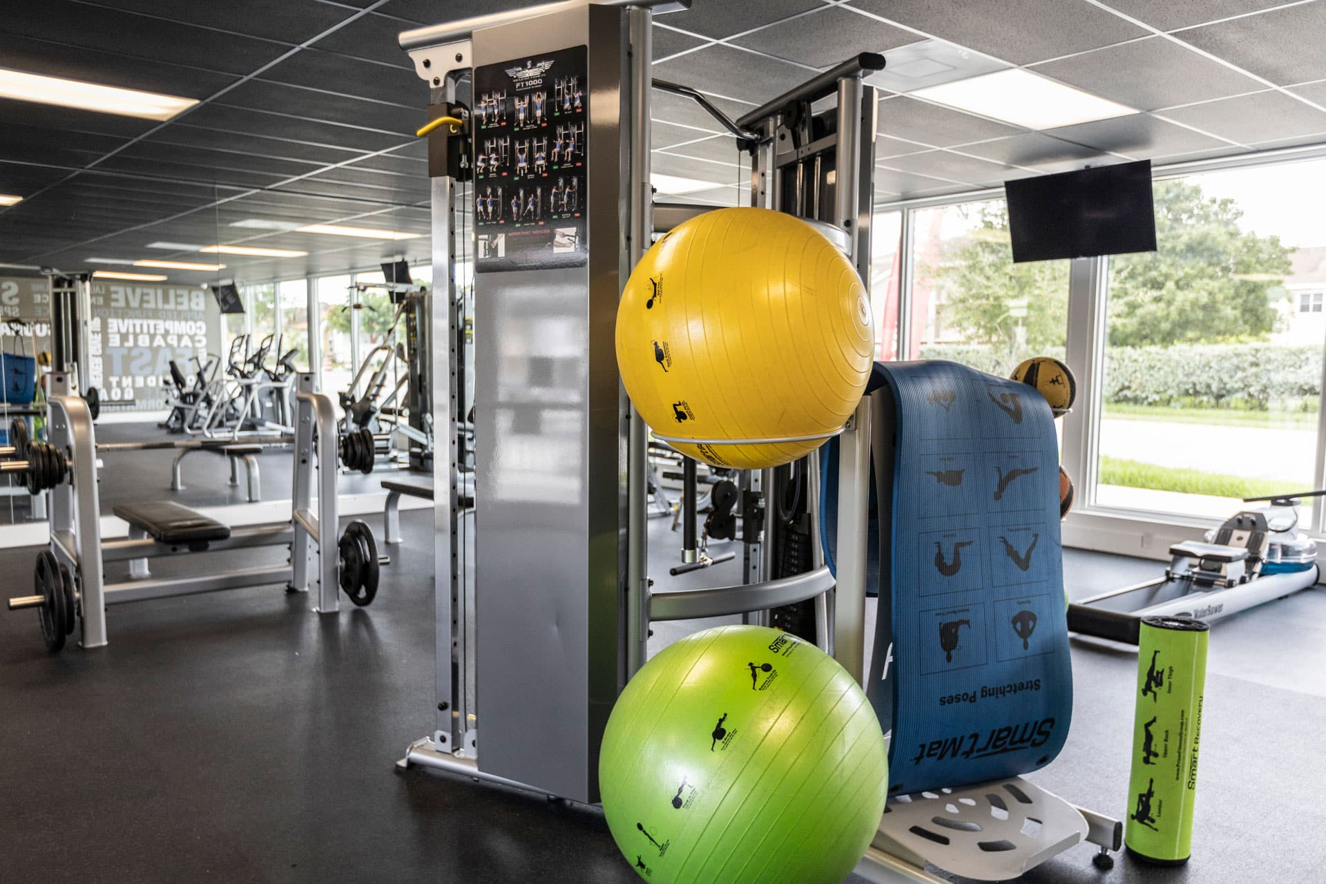 Fitness Center with Club-quality Equipment