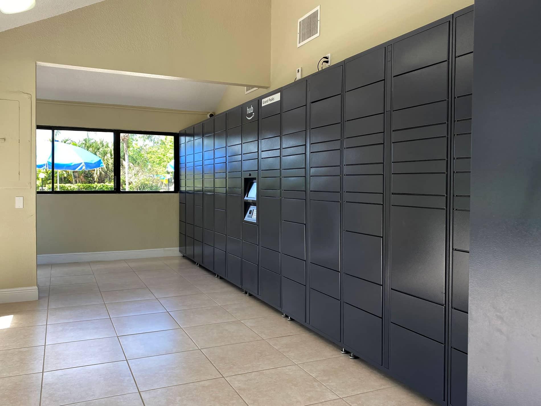 Amazon Package Lockers