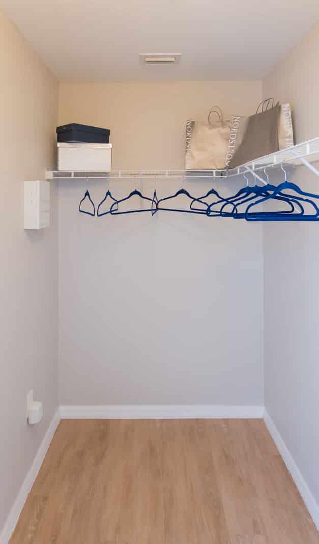 Generous Walk-In Closets