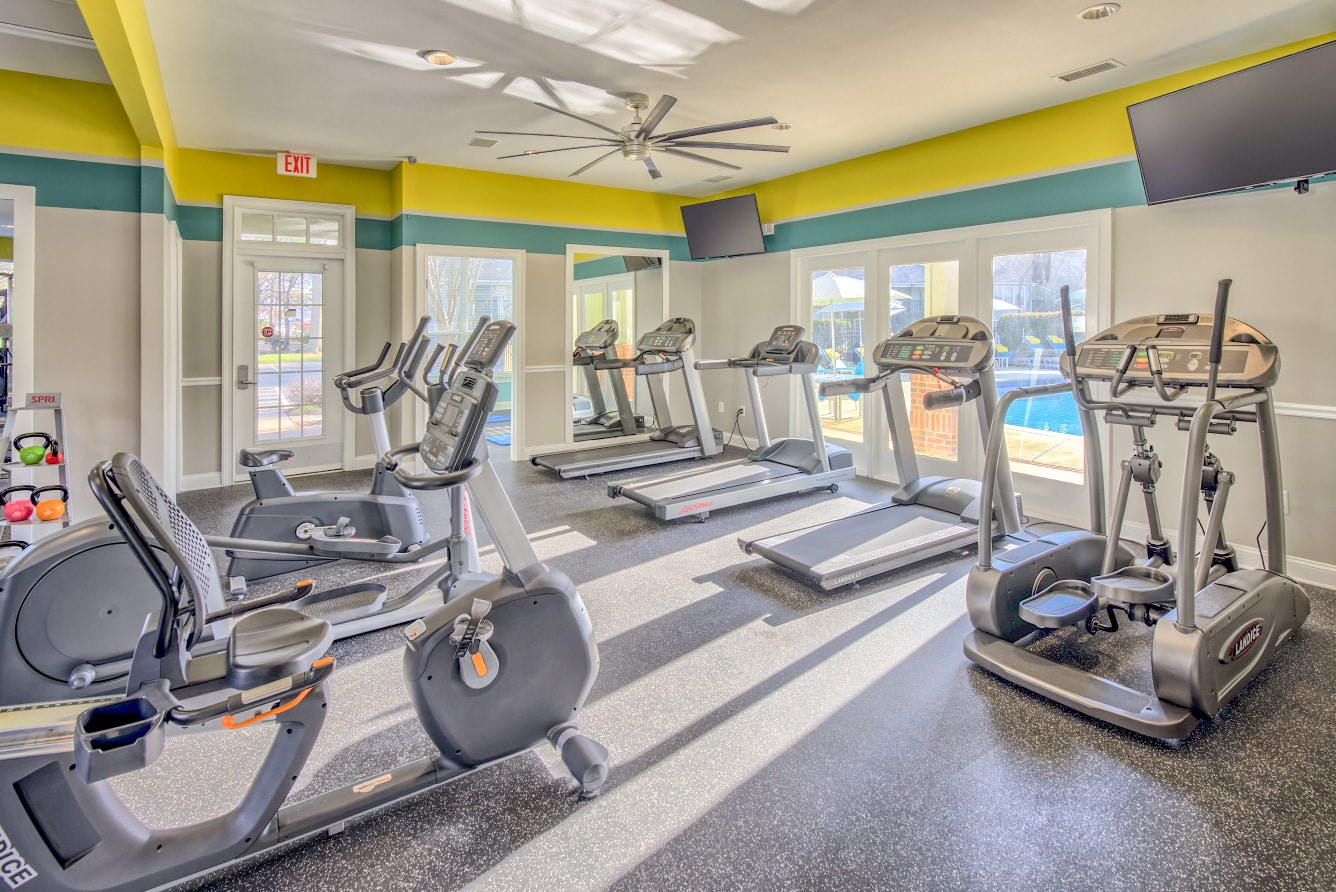 State-of-the-Art Fitness Center & Yoga/Spin Studio