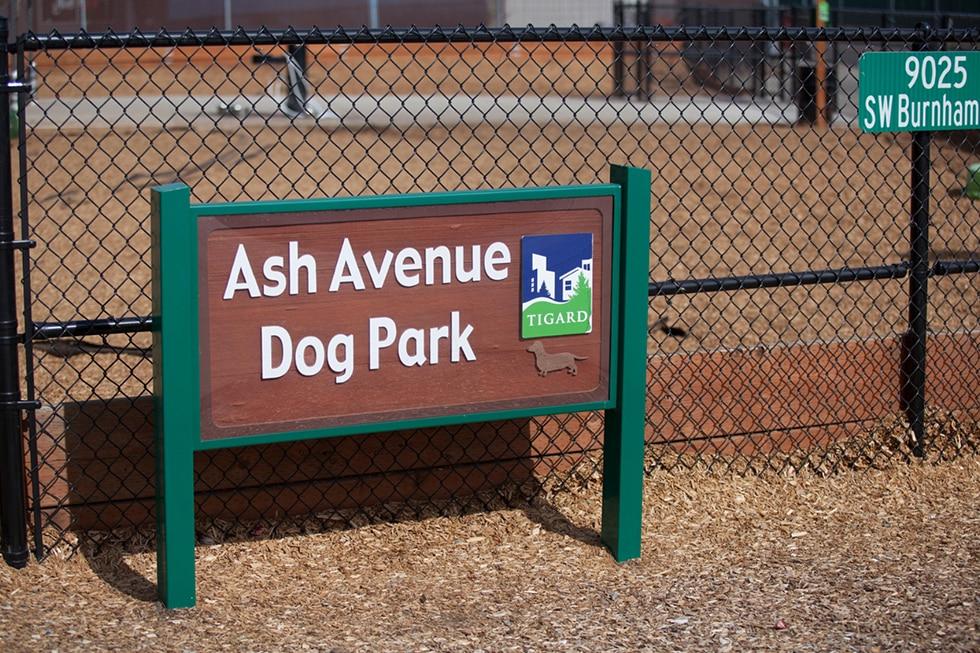 Adjacent to Ash Dog Park