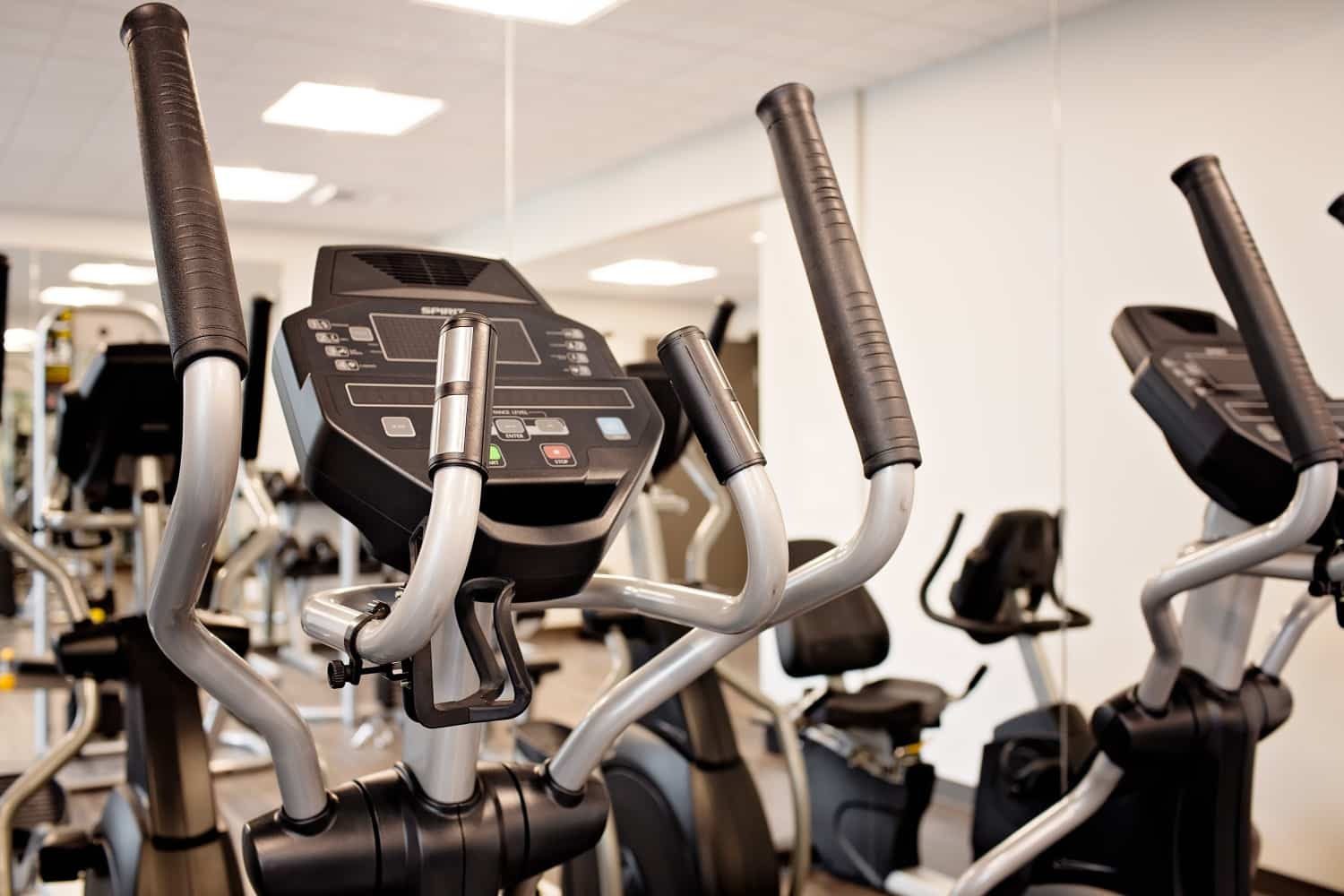 24-hr fitness center with club-quality equipment