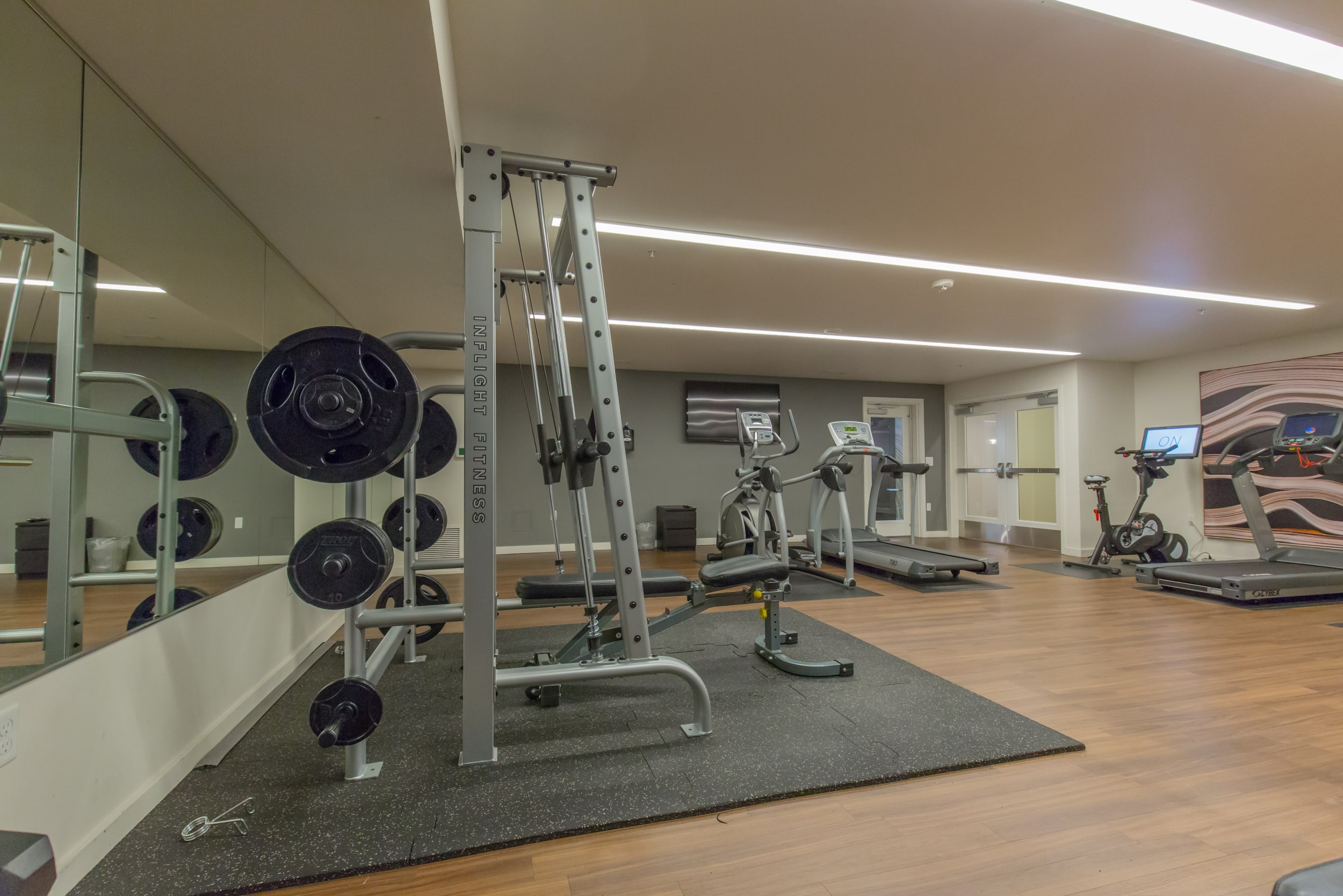 Exclusive 24-Hour Fitness Center