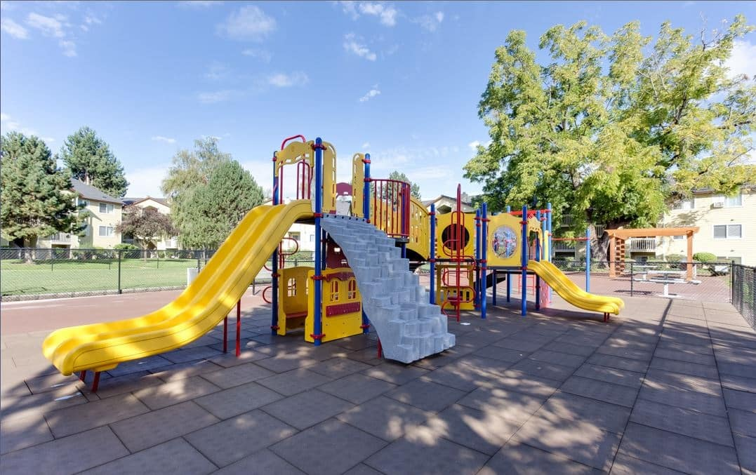 Lush Outdoor Social Area with BBQ & Playground