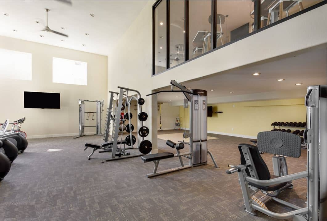 Fitness Club with Club-Quality Equipment