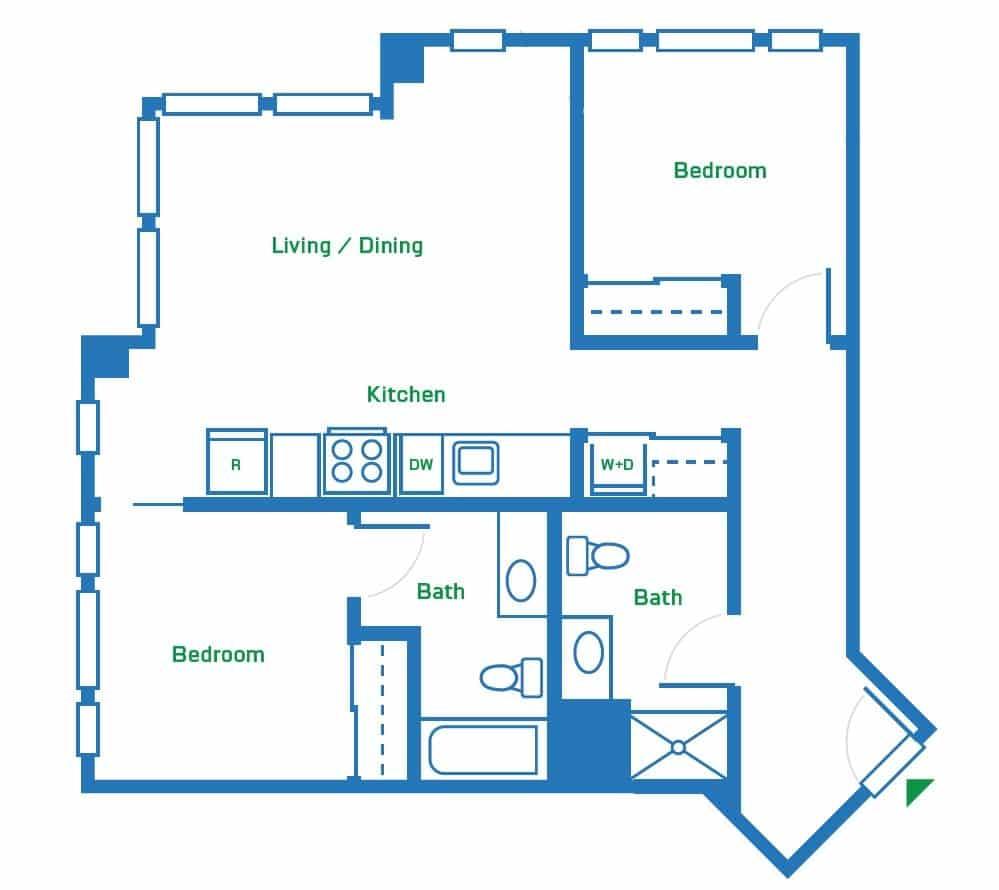 2 Bedroom | 927