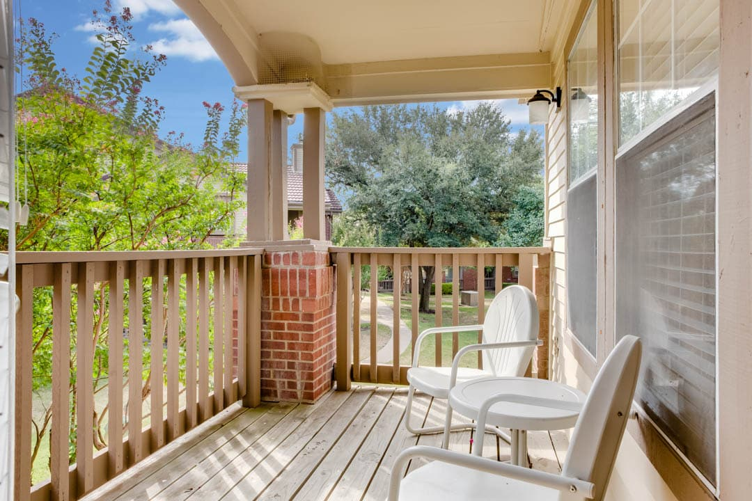 Private Balconies Available
