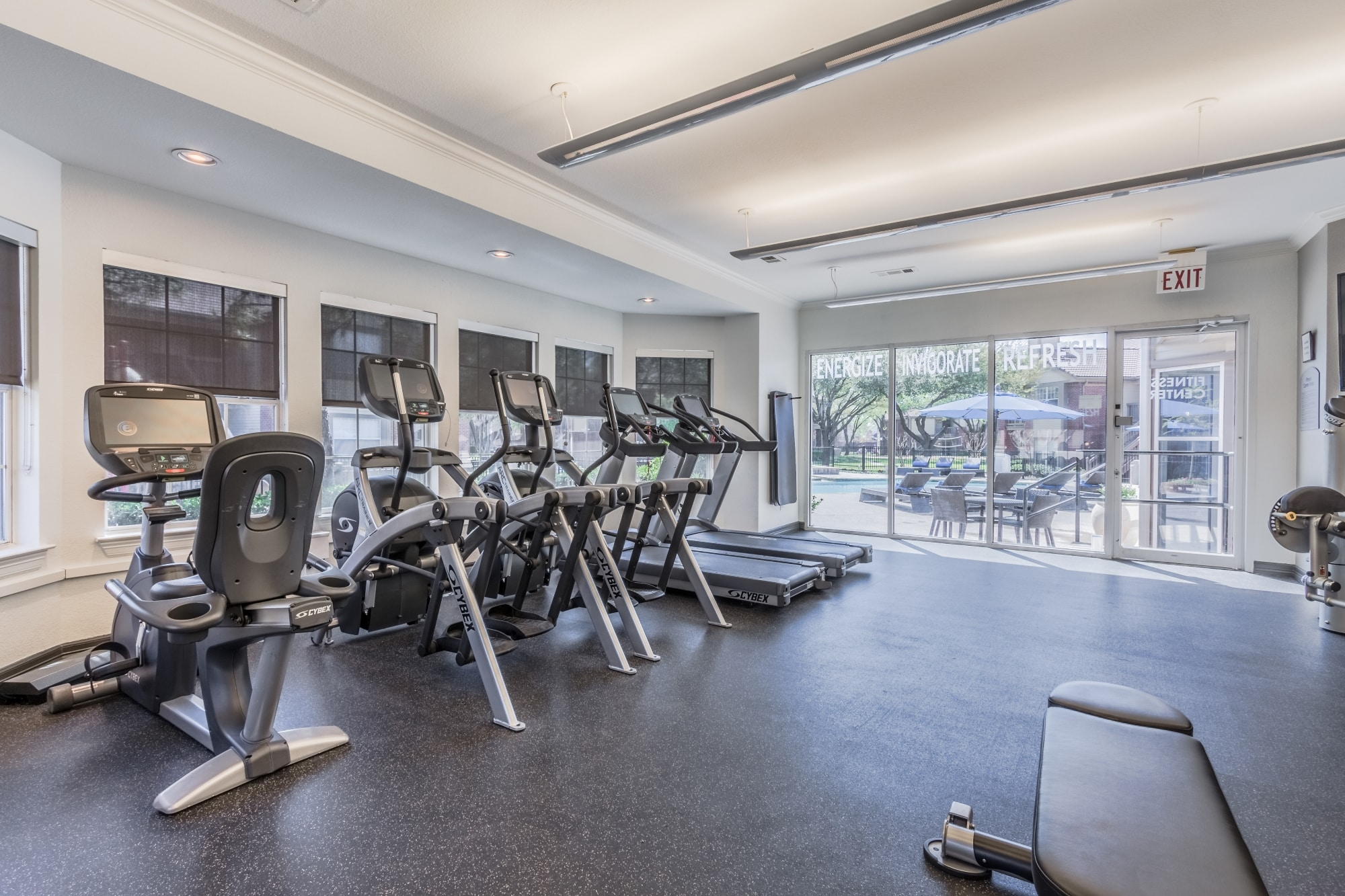 New Fitness Center with Club-Style Equipment