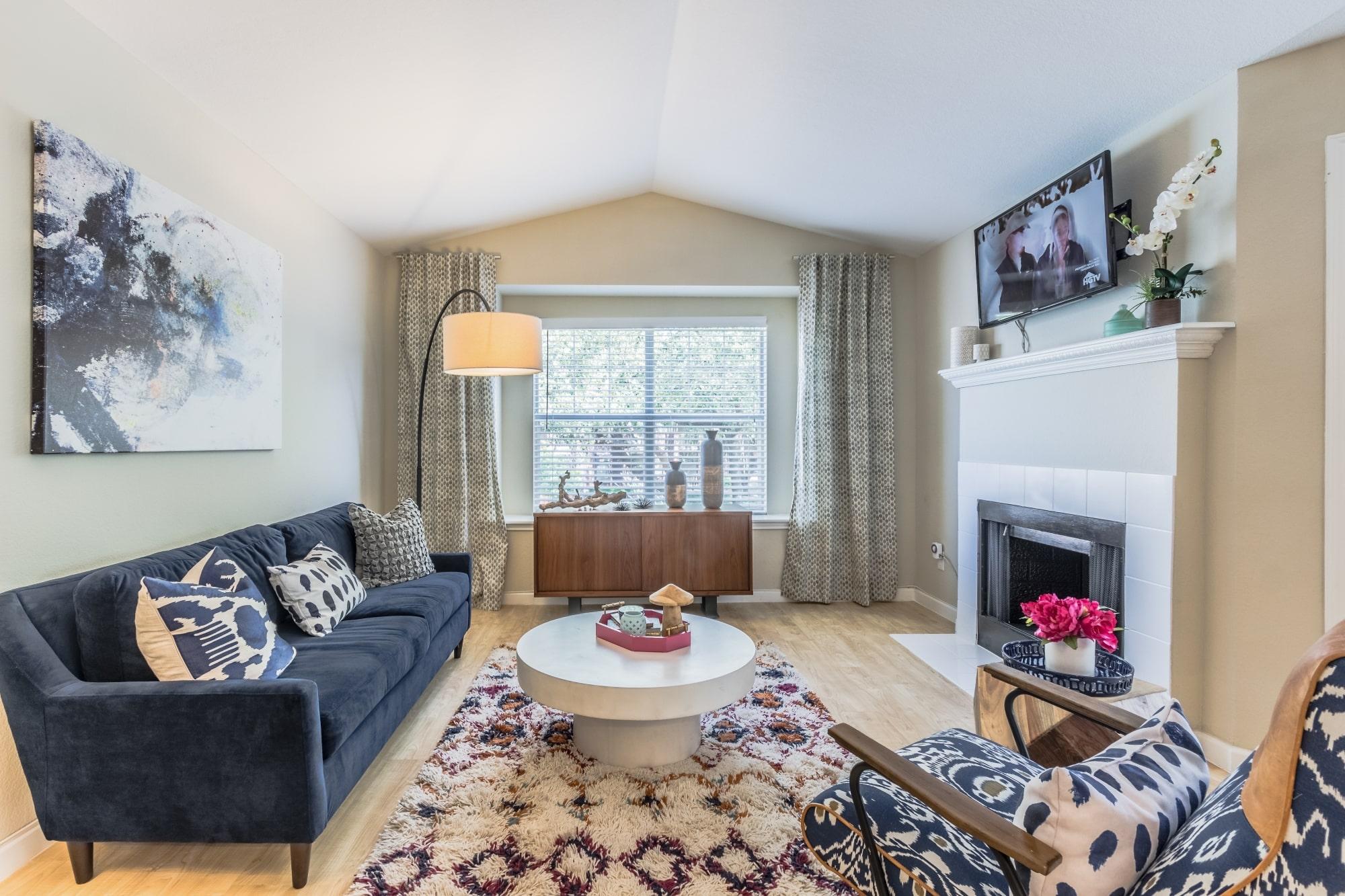 High Quality Canterbury Model Living Room