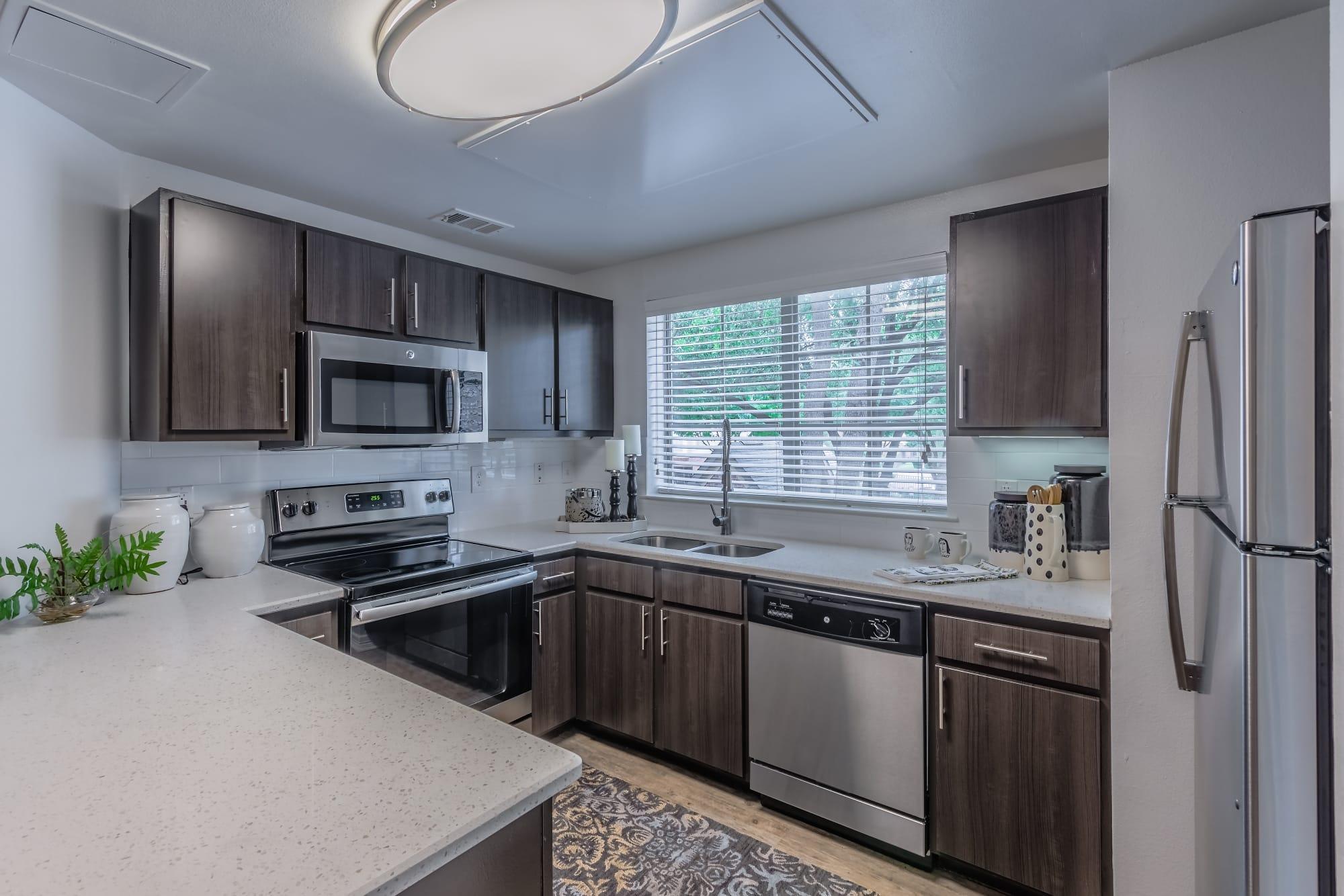 livingston-model-kitchen-2 - The Livingston on Modern Model Kitchen  id=34162