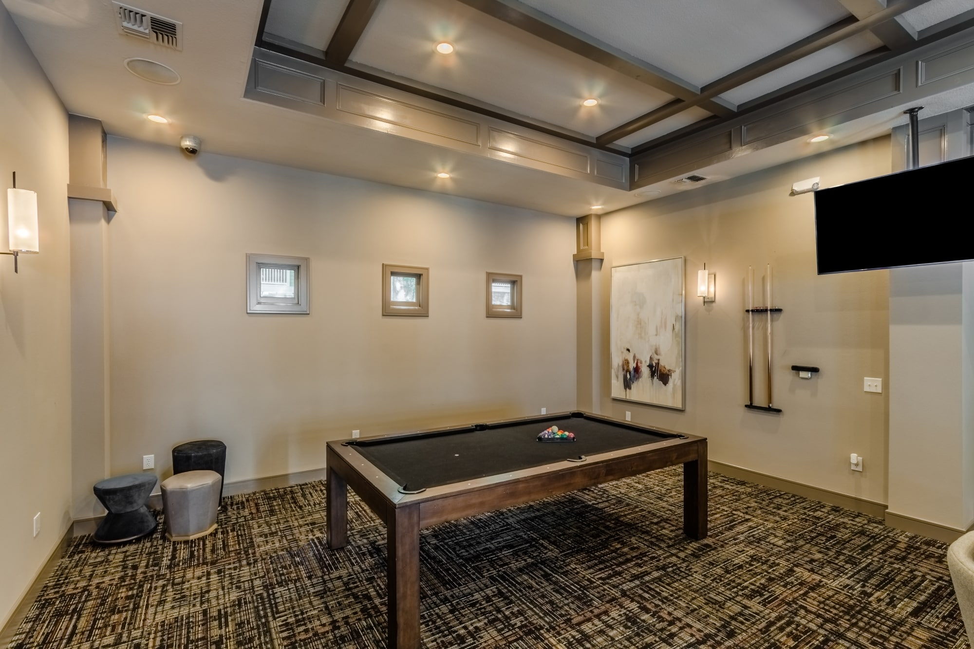 Media and Game Room