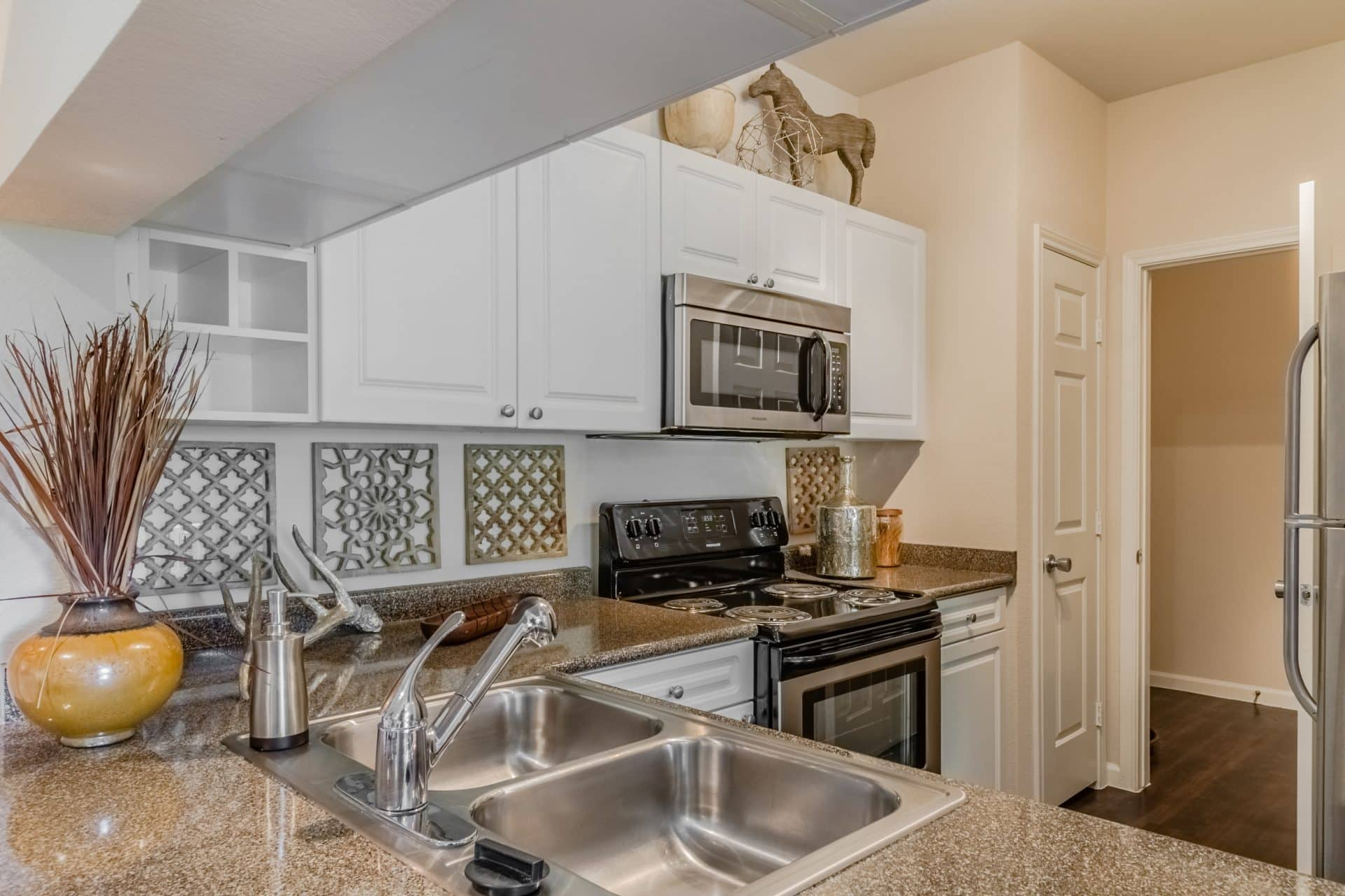 Stainless-Steel Frigidaire Appliances or White Appliances