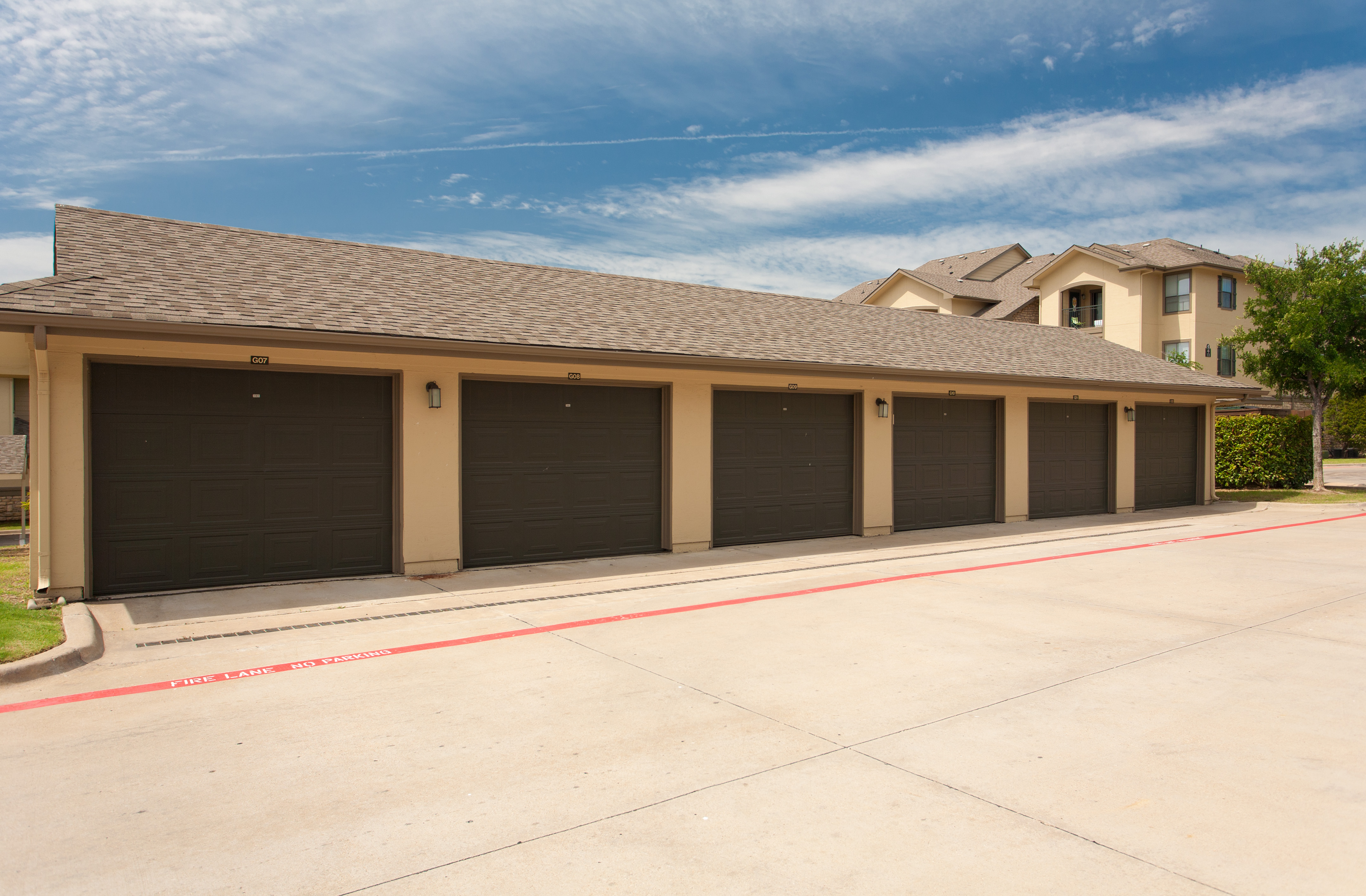 Variety of Parking Options Including Garages and Carports